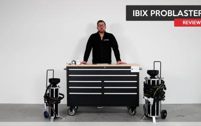 Ibix Problaster is zeer geschikt voor mobiel straalwerk