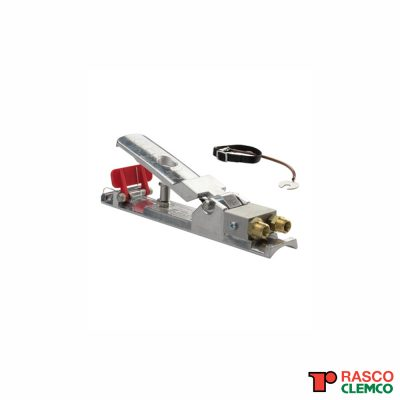 Clemco Dodemansknop met veiligheidssysteem RLX-3