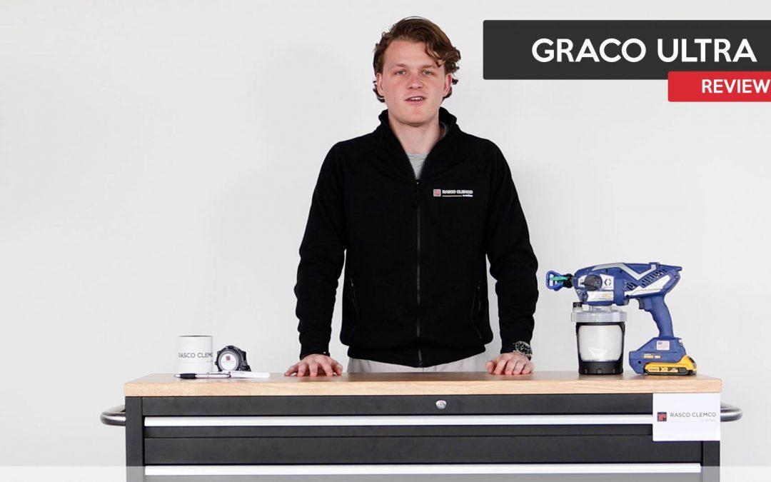 De Graco Ultra(max) Airless perfect voor de kleine klus