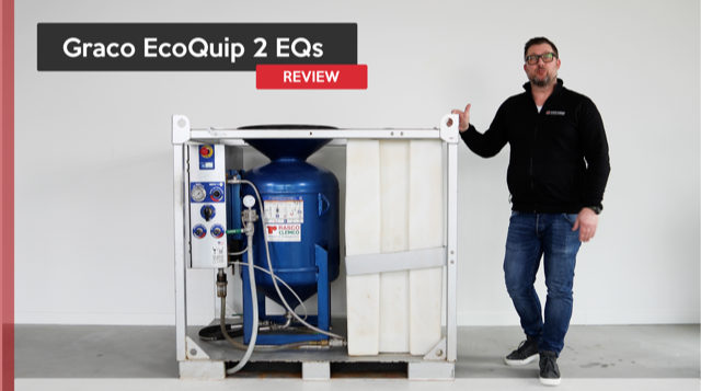 Graco Ecoquip 2EQs perfect voor het natstralen